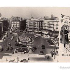 Postales: MADRID.- PUERTA DEL SOL. Lote 147008694