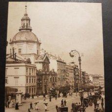 Postales: MADRID CALLE DE ALCALÁ HAUSER Y MENET REVERSO SIN DIVIDIR. Lote 147011682