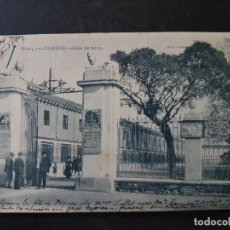 Postales: MADRID CASA DE FIERAS. Lote 147051650