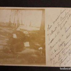 Postales: MADRID POSTAL FOTOGRAFICA RETRATO DE CLEMENT VENTENAC PROFESOR SOCIEDAD FRANCESA DE MADRID 1902. Lote 147075434