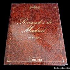 Postales: RECUERDOS DE MADRID EN POSTALES. DIARIO 16 CON EL PATROCINIO DE FORTUNA. 102 POSTALES ANTIGUAS. Lote 147311642