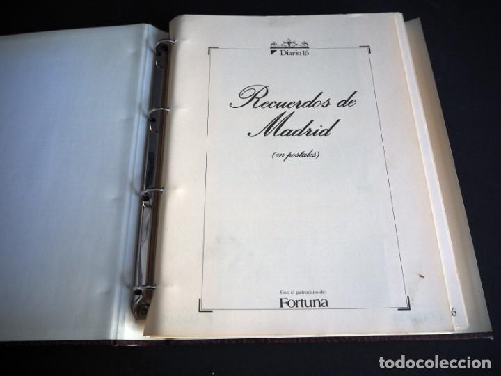 Postales: RECUERDOS DE MADRID EN POSTALES. Diario 16 con el patrocinio de Fortuna. 102 postales antiguas - Foto 2 - 147311642