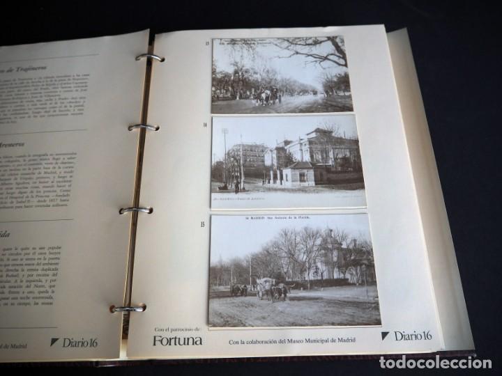 Postales: RECUERDOS DE MADRID EN POSTALES. Diario 16 con el patrocinio de Fortuna. 102 postales antiguas - Foto 3 - 147311642
