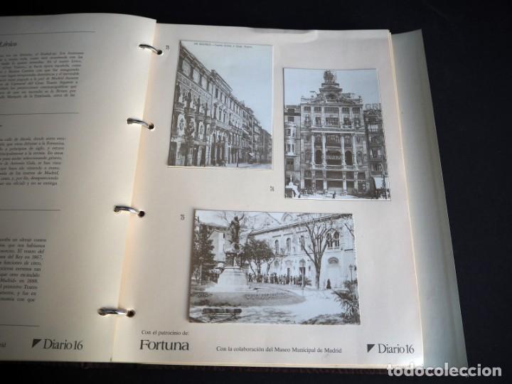 Postales: RECUERDOS DE MADRID EN POSTALES. Diario 16 con el patrocinio de Fortuna. 102 postales antiguas - Foto 5 - 147311642