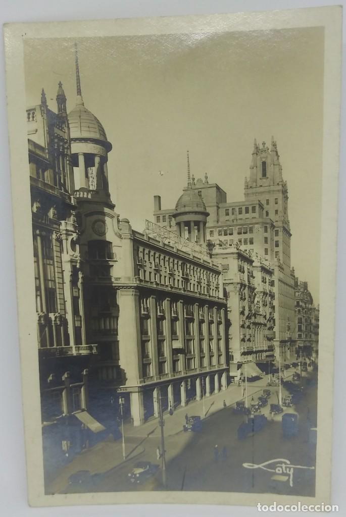 327 MADRID AVENIDA DE PI Y MARGALL. MADRID Y LA TELEFÓNICA. LOTY. (Postales - España - Comunidad de Madrid Antigua (hasta 1939))