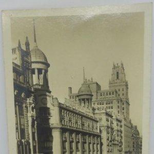 327 Madrid Avenida de Pi y Margall. Madrid y la Telefónica. Loty.