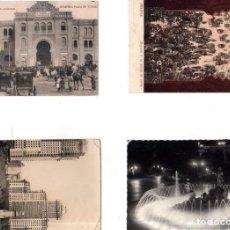 Postales: LOTE DE 4 POSTALES DE MADRID. VER FOTO.. Lote 147453222