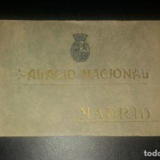 Postales: ÁLBUM FOTOTIPIAS. PALACIO NACIONAL MADRID (REAL), HAUSER Y MENET, AÑOS 30. 24 VISTAS-LÁMINAS, NUEVO. Lote 147604010