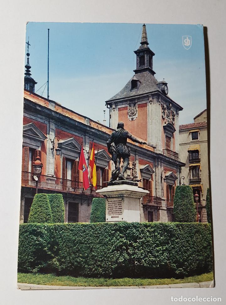 MADRID PLAZA DE LA VILLA (Postales - España - Madrid Moderna (desde 1940))