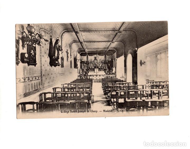 POZUELO DE ALARCÓN.(MADRID).- COLEGIO DE SAN JOSÉ DE CLUNY. CAPILLA (Postales - España - Comunidad de Madrid Antigua (hasta 1939))