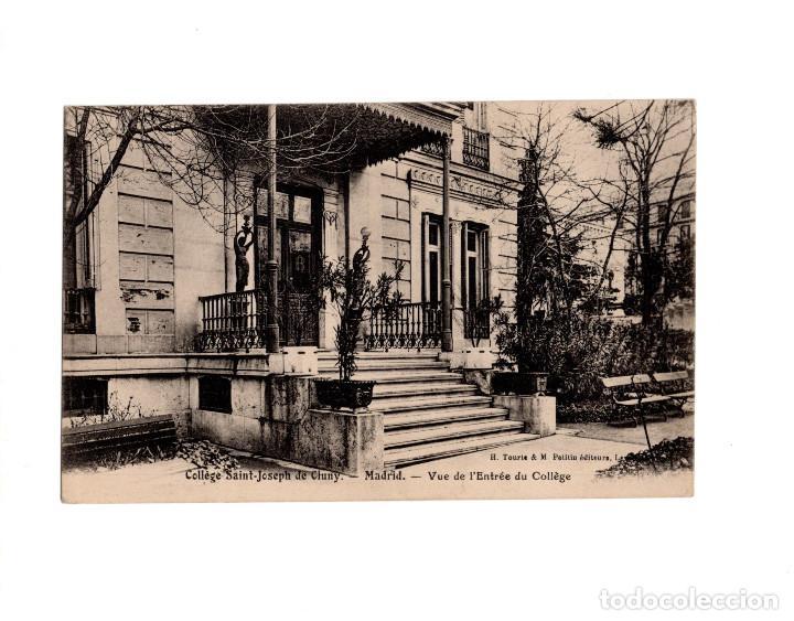 POZUELO DE ALARCÓN.(MADRID).- COLEGIO DE SAN JOSÉ DE CLUNY. ENTRADA AL COLEGIO (Postales - España - Comunidad de Madrid Antigua (hasta 1939))