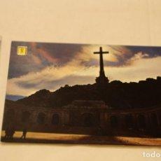 Postales: VALLE DE LOS CAIDOS FACHADA CONTRALUZ Nº 36 ESCUDO DE ORO PATRIMONIO NACIONAL. Lote 147850590