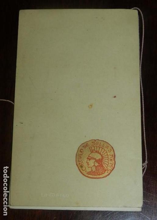 Postales: PROGRAMA DEL CIRCULO DE BELLAS ARTES, MADRID, CARNAVAL DE 1901, BAILE DE MASCARAS, TEATRO REAL, MIDE - Foto 3 - 147841990