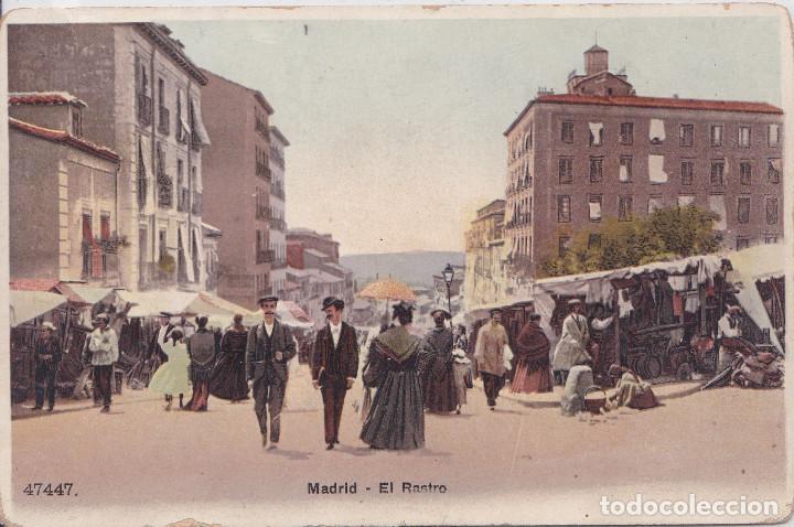 MADRID - EL RASTRO (Postales - España - Comunidad de Madrid Antigua (hasta 1939))