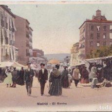 Postales: MADRID - EL RASTRO. Lote 147936294