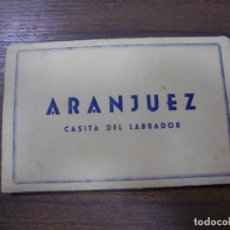 Postales: BLOC DE 10 TARJETAS POSTALES DE ARANJUEZ. CASITA DEL LABRADOR. H. A. E.. Lote 147995322