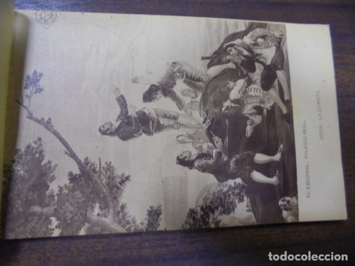 Postkarten: BLOC DE 20 TARJETAS POSTALES DE ESCORIAL. FOTOTIPIA DE HAUSER Y MENET- MADRID. - Foto 4 - 147998790