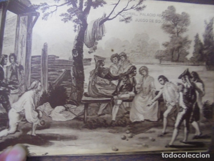Postkarten: BLOC DE 20 TARJETAS POSTALES DE ESCORIAL. FOTOTIPIA DE HAUSER Y MENET- MADRID. - Foto 11 - 147998790