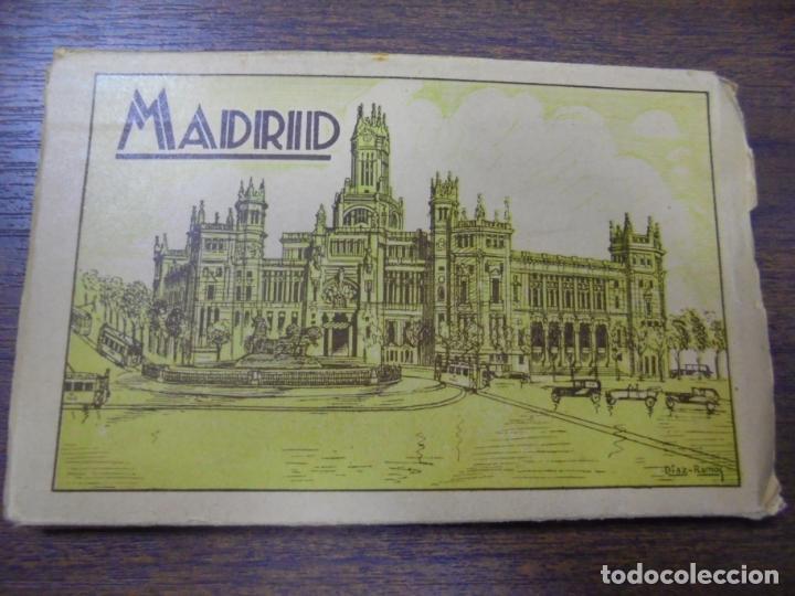 BLOC DE 17 TARJETAS POSTALES DE MADRID. (Postales - España - Comunidad de Madrid Antigua (hasta 1939))