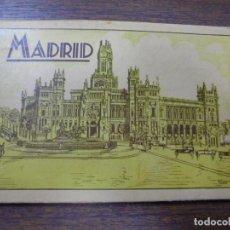 Postales: BLOC DE 17 TARJETAS POSTALES DE MADRID. . Lote 148003918