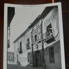 Postales: ANTIGUA POSTAL DE ALCALA DE HENARES (MADRID), CASA DE LOS LIZANAS, CLICHE CANOVAS NUM. 12, SIN CIRCU. Lote 148004238