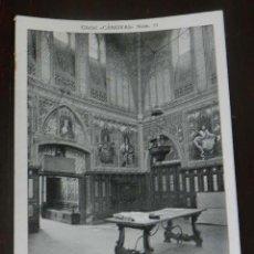 Postales: ANTIGUA POSTAL DE ALCALA DE HENARES (MADRID), BOVEDA DE LA CASA DE LAREDO, CLICHE CANOVAS NUM. 11, S. Lote 148004330