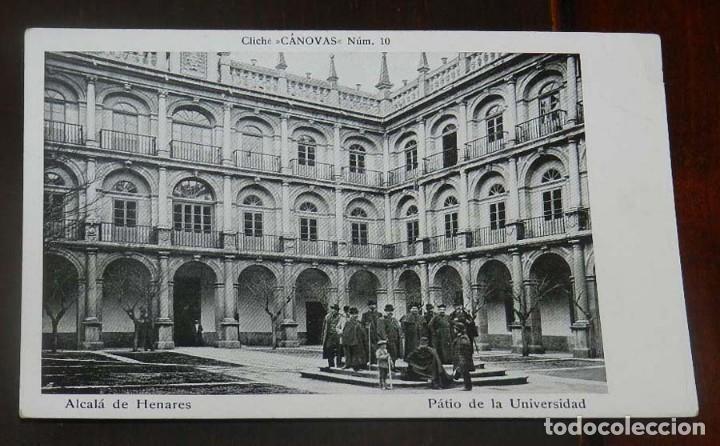 ANTIGUA POSTAL DE ALCALA DE HENARES (MADRID), PATIO DE LA UNIVERSIDAD, CLICHE CANOVAS NUM. 10, SIN C (Postales - España - Comunidad de Madrid Antigua (hasta 1939))