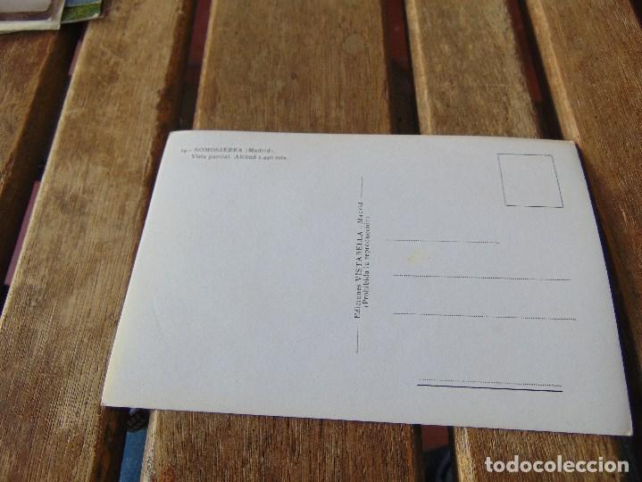 Postales: TARJETA POSTAL SOMOSIERRA MADRID VISTA PARCIAL - Foto 2 - 148025866