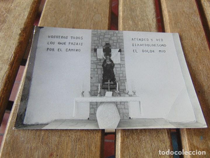 TARJETA POSTAL SOMOSIERRA MADRID ERMITA NUESTRA SEÑORA DE LA SOLEDAD (Postales - España - Madrid Moderna (desde 1940))