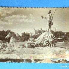 Postales: POSTAL DE MADRID: FUENTE DE NEPTUNO. Lote 148043662