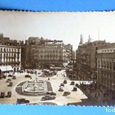 Postales: POSTAL DE MADRID: PUERTA DEL SOL. Lote 148044282