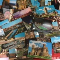 Postales: 51 POSTALES DE LA COMUNIDAD DE MADRID AÑIS 60 . Lote 148170326