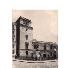 Postales: MADRID.- TORRE DE LOS LUJANES. Lote 148376134