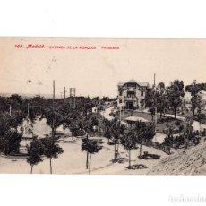 Postales: MADRID.- ENTRADA DE LA MONCLOA Y PARISIANA. Lote 148497798