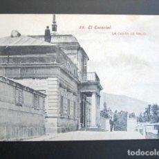Postales: POSTAL MADRID. EL ESCORIAL. LA CASITA DE ABAJO. . Lote 149980438