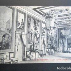 Postales: POSTAL MADRID. EL ESCORIAL. SALÓN DE EMBAJADORES. PALACIO. . Lote 149980534