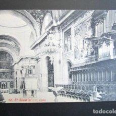 Postales: POSTAL MADRID. EL ESCORIAL. EL CORO. . Lote 149980782
