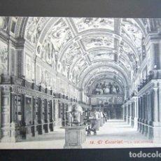 Postales: POSTAL MADRID. EL ESCORIAL. LA BIBLIOTECA. . Lote 149980874