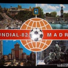 Postales: TRES POSTALES DE MADRID MUNDIAL 82. Lote 150058030