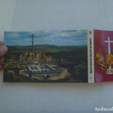 Postales: ACORDEON CON 18 MINI POSTALES DE SANTA CRUZ DEL VALLE DE LOS CAIDOS. PATRIMONIO NACIONAL. Lote 150246778