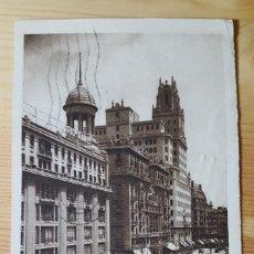 Postales: MADRID AVENIDA DE PI Y MARGALL 1934 SELLO REPUBLICA ED. DESCONOCIDO. Lote 150705830