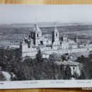 Postales: EL ESCORIAL VISTA GENERAL 1954 MANIPEL RTRO. Nº 142200? Nº NO SE DISTINGUE BIEN. Lote 150706442