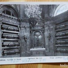 Postales: EL ESCORIAL PANTEON DE LOS REYES MANIPEL RTRO Nº 142205 1954. Lote 150706570