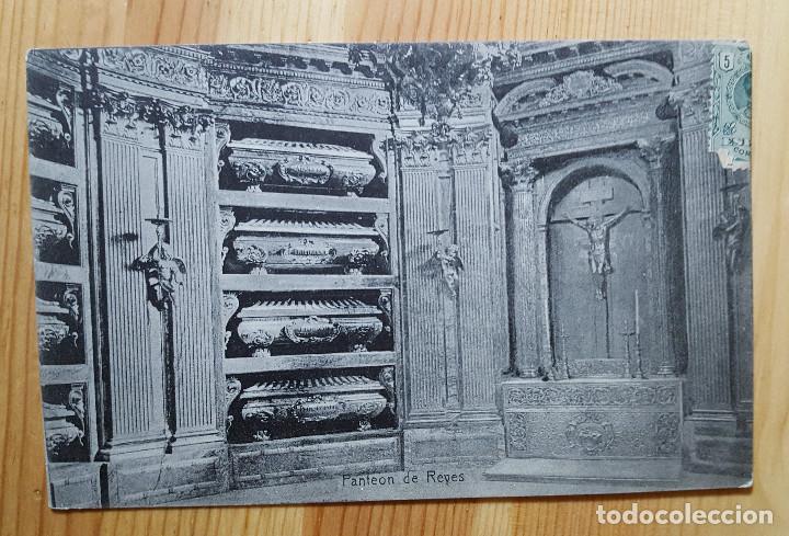EL ESCORIAL PANTEON DE LOS REYES 1911 ED. DESCONOCIDO (Postales - España - Madrid Moderna (desde 1940))