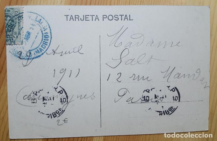 Postales: El Escorial Panteon de los Reyes 1911 Ed. Desconocido - Foto 2 - 150708586