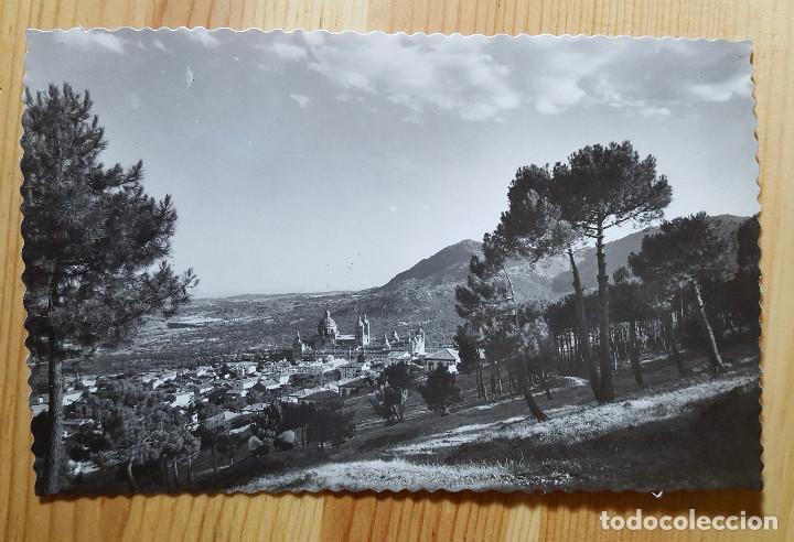 MONASTERIO DEL ESCORIAL Nº 1/2? VISTA GENERAL ED. GARCIA GARRABELLA - DOROTEA BRAVO (Postales - España - Madrid Moderna (desde 1940))