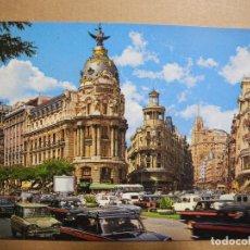 Postales: CALLE DE ALCALÁ Y AVDA. JOSÉ ANTONIO ALCALÁ. MADRID 268. ED. GARCIA GARRABELLA. NUEVA. Lote 150813278