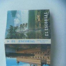 Postales: ACORDEON CON 22 MINI POSTALES DE EL ESCORIAL ( MADRID ). AÑOS 60. PATRIMONIO NACIONAL. Lote 150843338