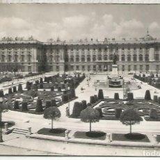 Postales: MADRID PALACIO REAL ESCRITA . Lote 150939814