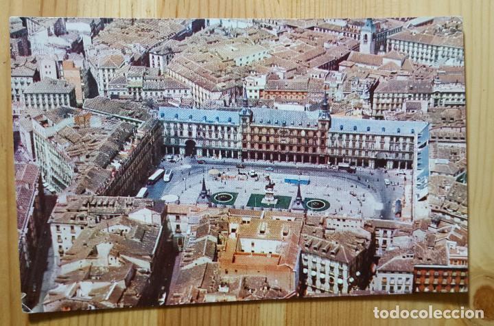 MADRID PLAZA MAYOR IBERIA ED. RIEUSSET 1960 (Postales - España - Madrid Moderna (desde 1940))